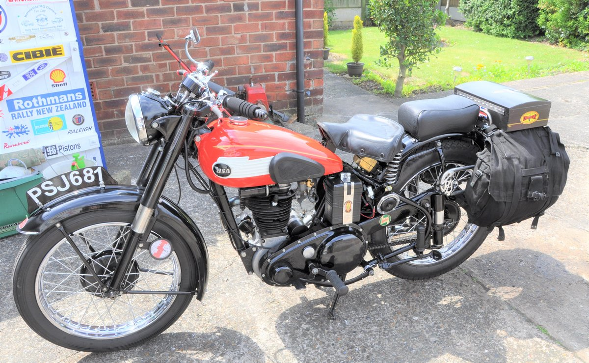 1953 BSA C 11 SOLD (picture 6 of 6)