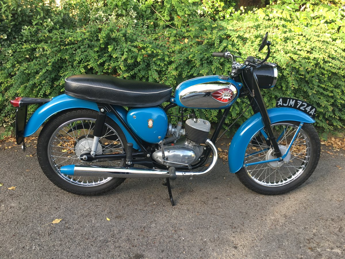 1963 BSA Bantam D7 175 SOLD (picture 1 of 6)
