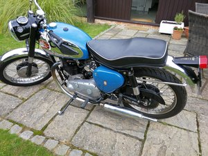 1960 BSA A10 Golden Flash with Goldstar Mudguards For Sale