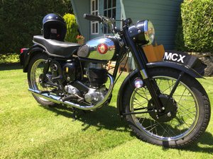 1957 Beautiful bsa c12 250 classic