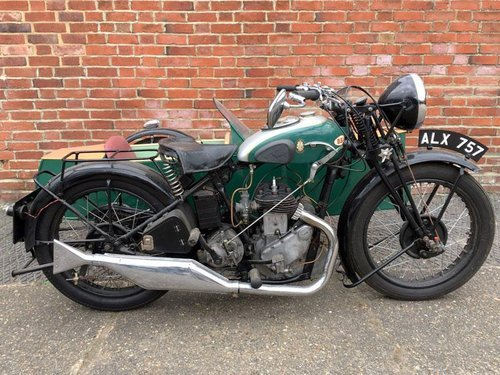 1935 BSA W35-6 Motorcycle with Side car For Sale (picture 1 of 2)