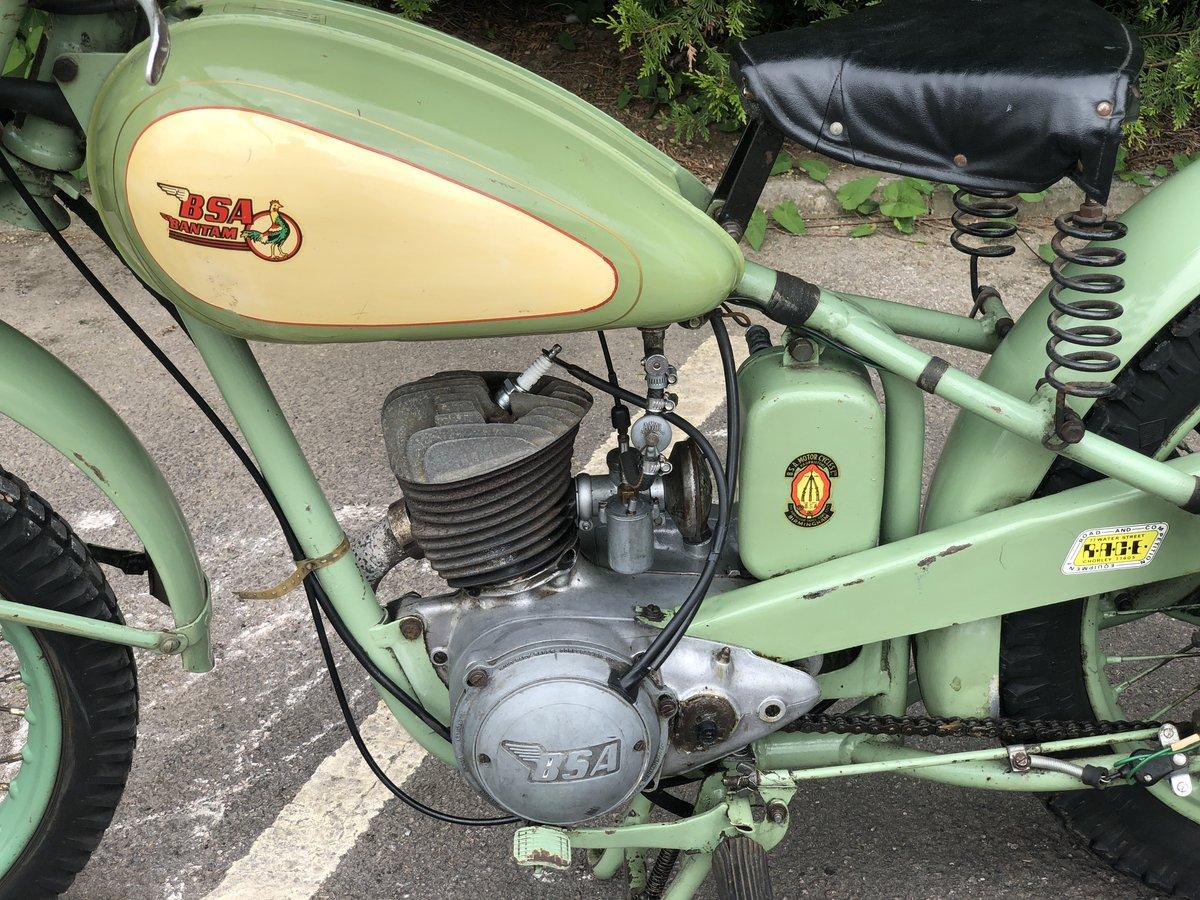 BSA Bantam D1 Plunger 1950 125cc SOLD (picture 4 of 6)