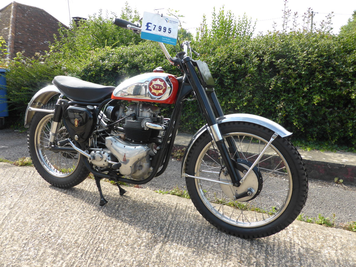 1962 BSA Spitfire Replica SOLD (picture 1 of 4)