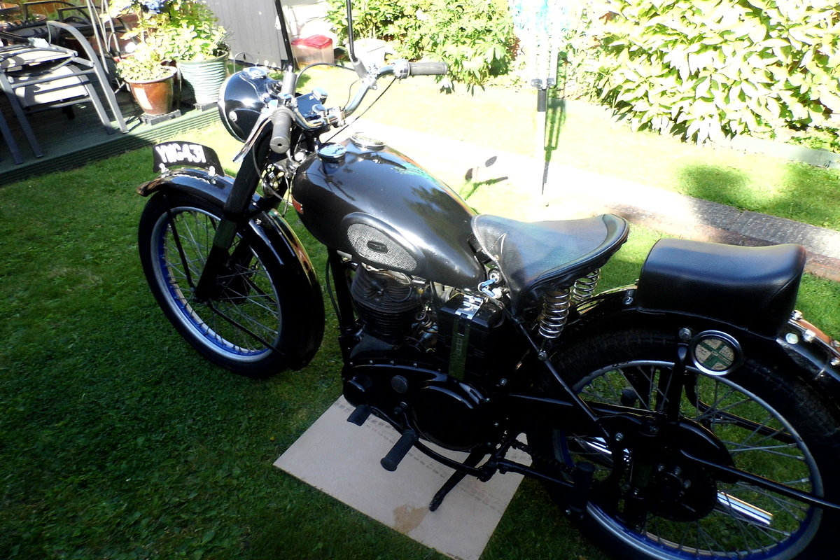 1948 BSA C11 For Auction Friday 12th July SOLD by Auction (picture 2 of 2)