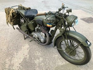 BSA WD M20 MATCHING NUMBERS MANUFACTURED 1945