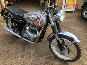 BSA 650cc ROCKET GOLD STAR REPLICA MANUFACTURED 1960 For Sale