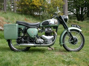 1959 BSA A7 Shooting Star For Sale by Auction