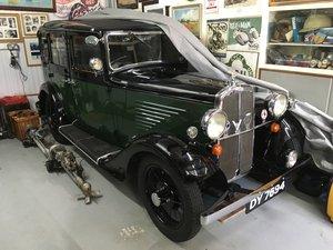 1932 BSA 10 HP Saloon For Sale
