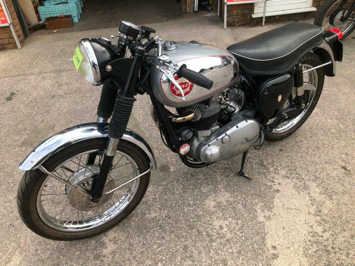 BSA 650 ROCKET MANUFACTURED 1959 IDEAL RGS PROJECT For Sale (picture 4 of 6)