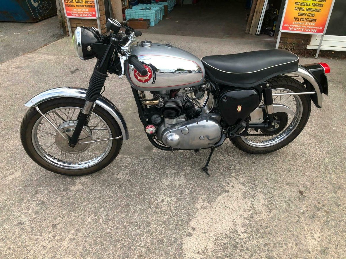 BSA 650 ROCKET MANUFACTURED 1959 IDEAL RGS PROJECT For Sale (picture 5 of 6)