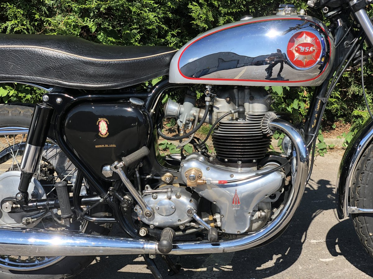BSA R.G.S Replica 650cc 1961 SRM Serviced For Sale (picture 3 of 6)