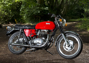 1971 Super BSA A65 Lightning with host of engine mods SOLD