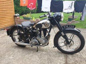 1954 BSA BM33 500cc. V5C. Recently Restored. VGC SOLD