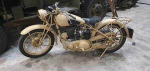 BSA M20 motorcycle, BSA WW2,  SOLD