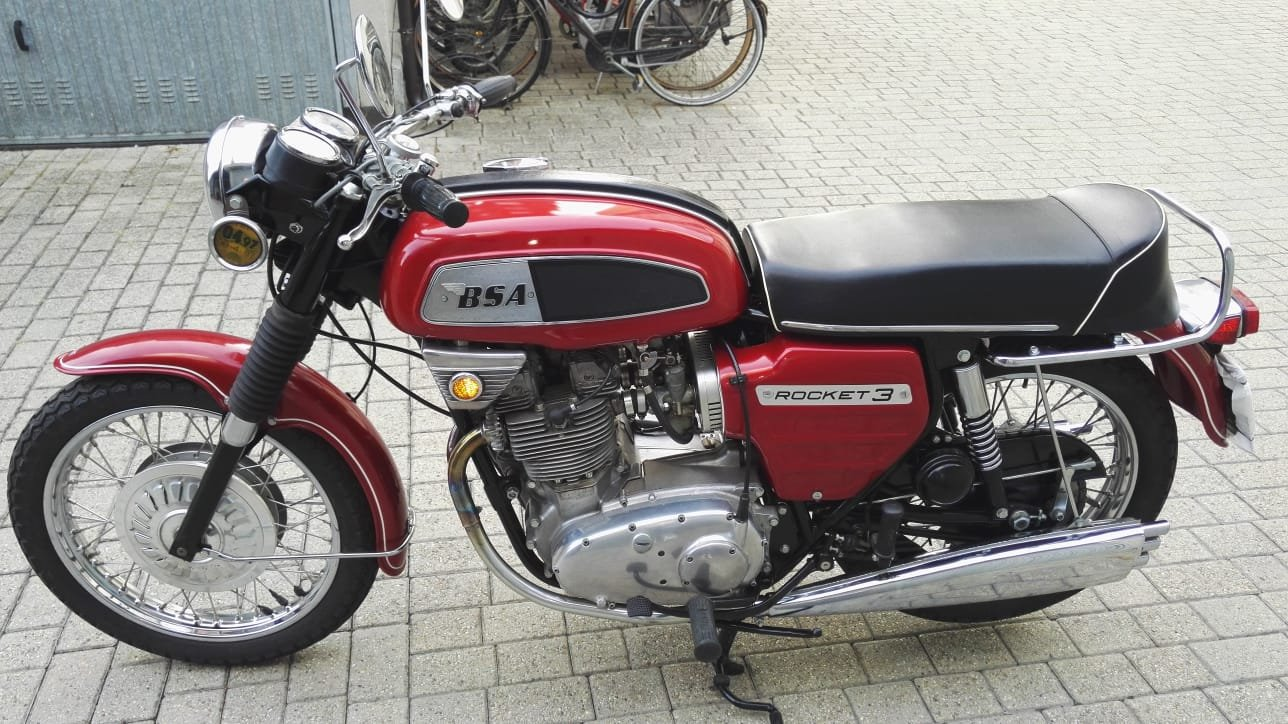 1969 BSA 750 Rocket 3 Mk 1 For Sale (picture 2 of 6)