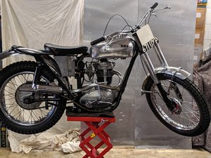 1962 BSA C15T Original, matching numbers machine For Sale