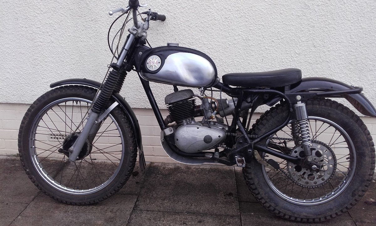1969 BSA Bantam Classic Trials Special For Sale (picture 3 of 6)