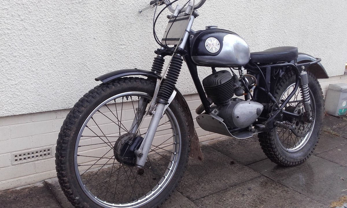 1969 BSA Bantam Classic Trials Special For Sale (picture 4 of 6)
