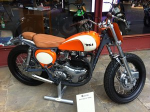 1960 BSA street tracker Fantastic classic   For Sale