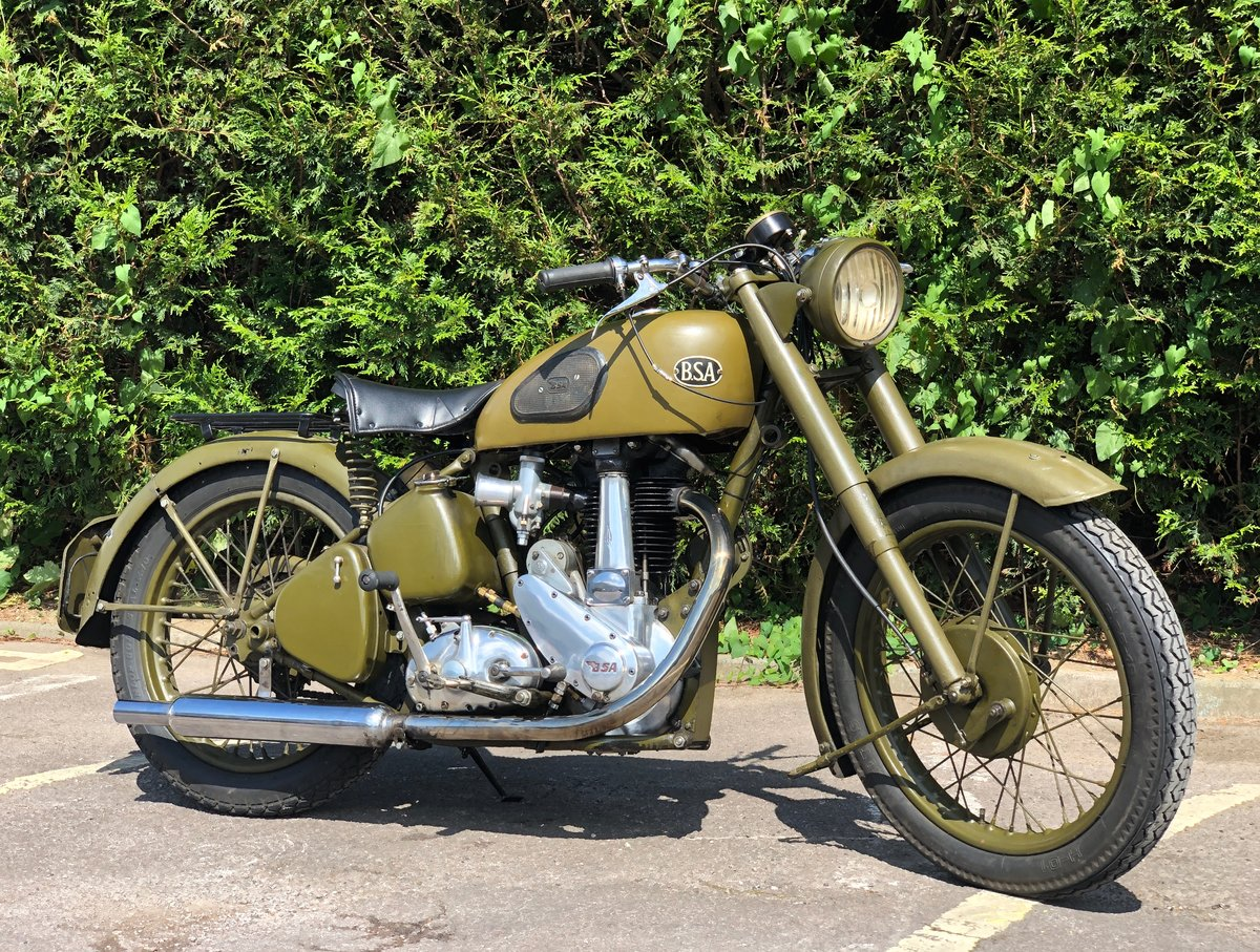 1952 Very Rare 1950's BSA ZM 33 500cc OHV For Sale (picture 1 of 6)