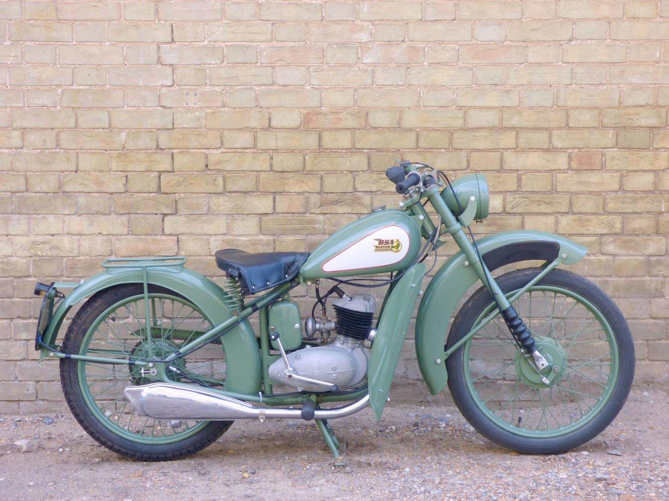1949 BSA Bantam D1 125cc SOLD (picture 1 of 6)