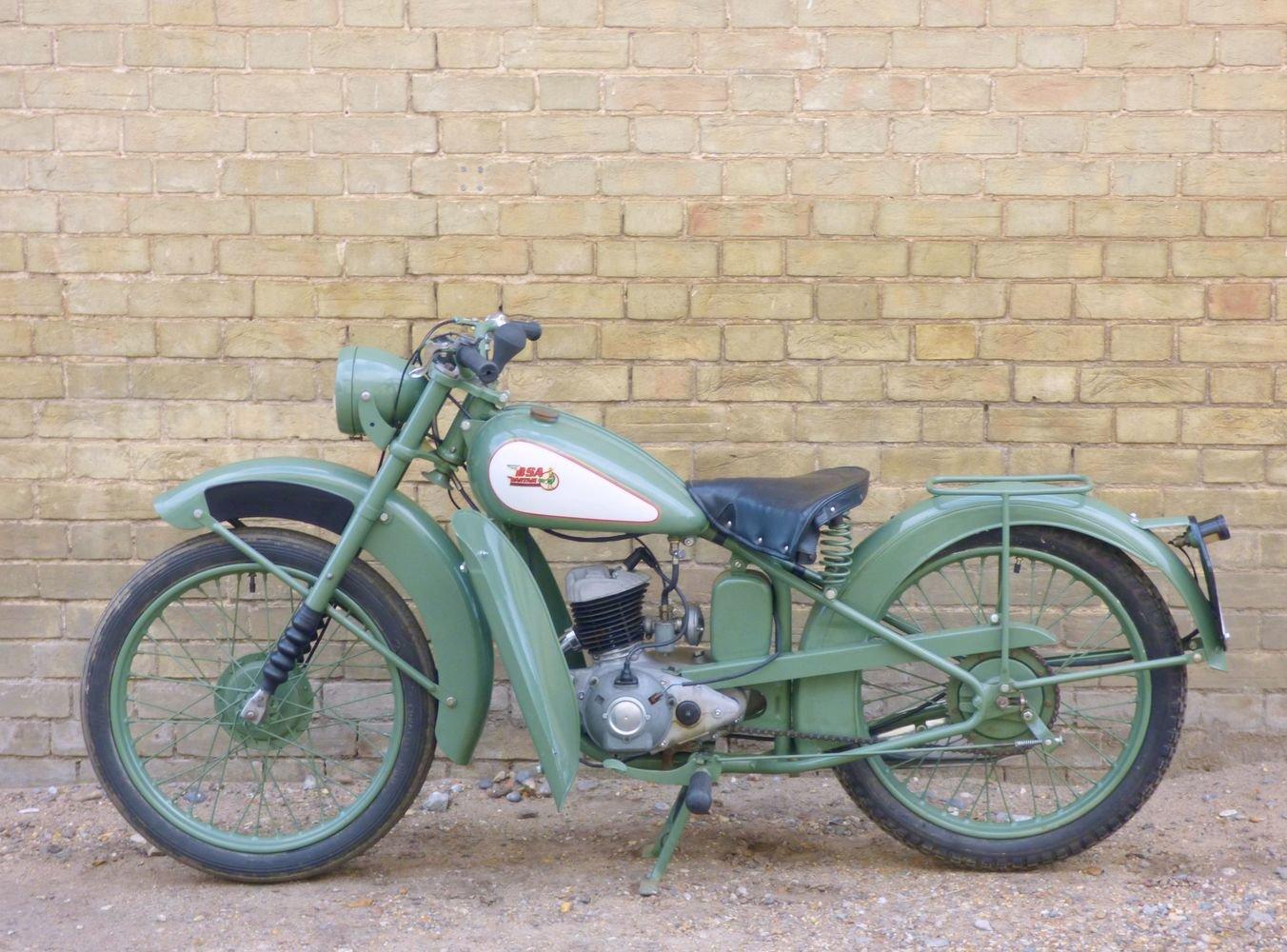 1949 BSA Bantam D1 125cc SOLD (picture 2 of 6)