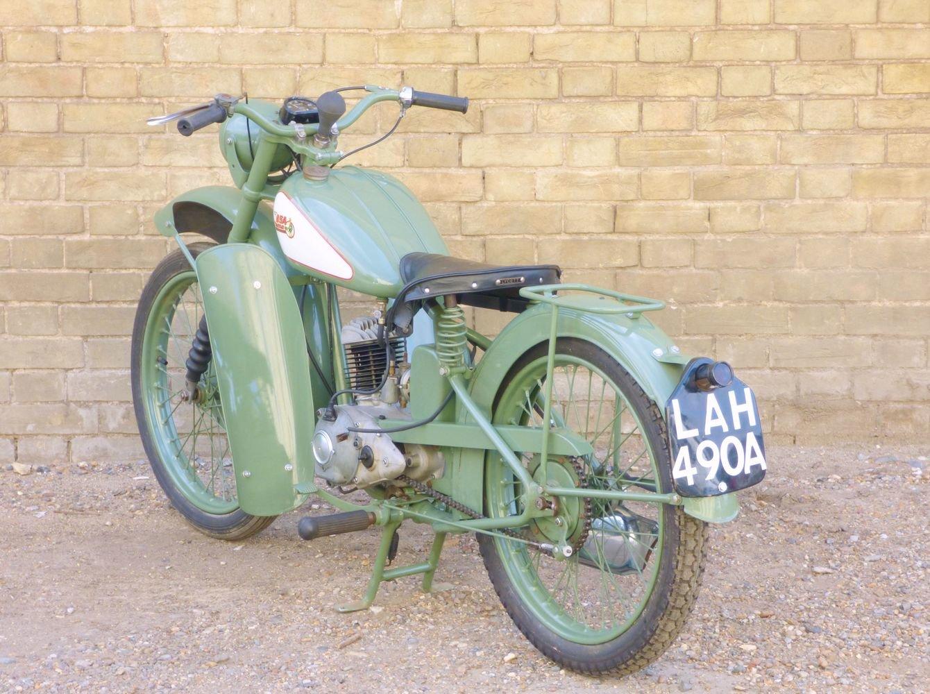 1949 BSA Bantam D1 125cc SOLD (picture 5 of 6)
