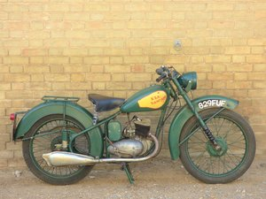 1951 BSA Bantam D1 125cc SOLD