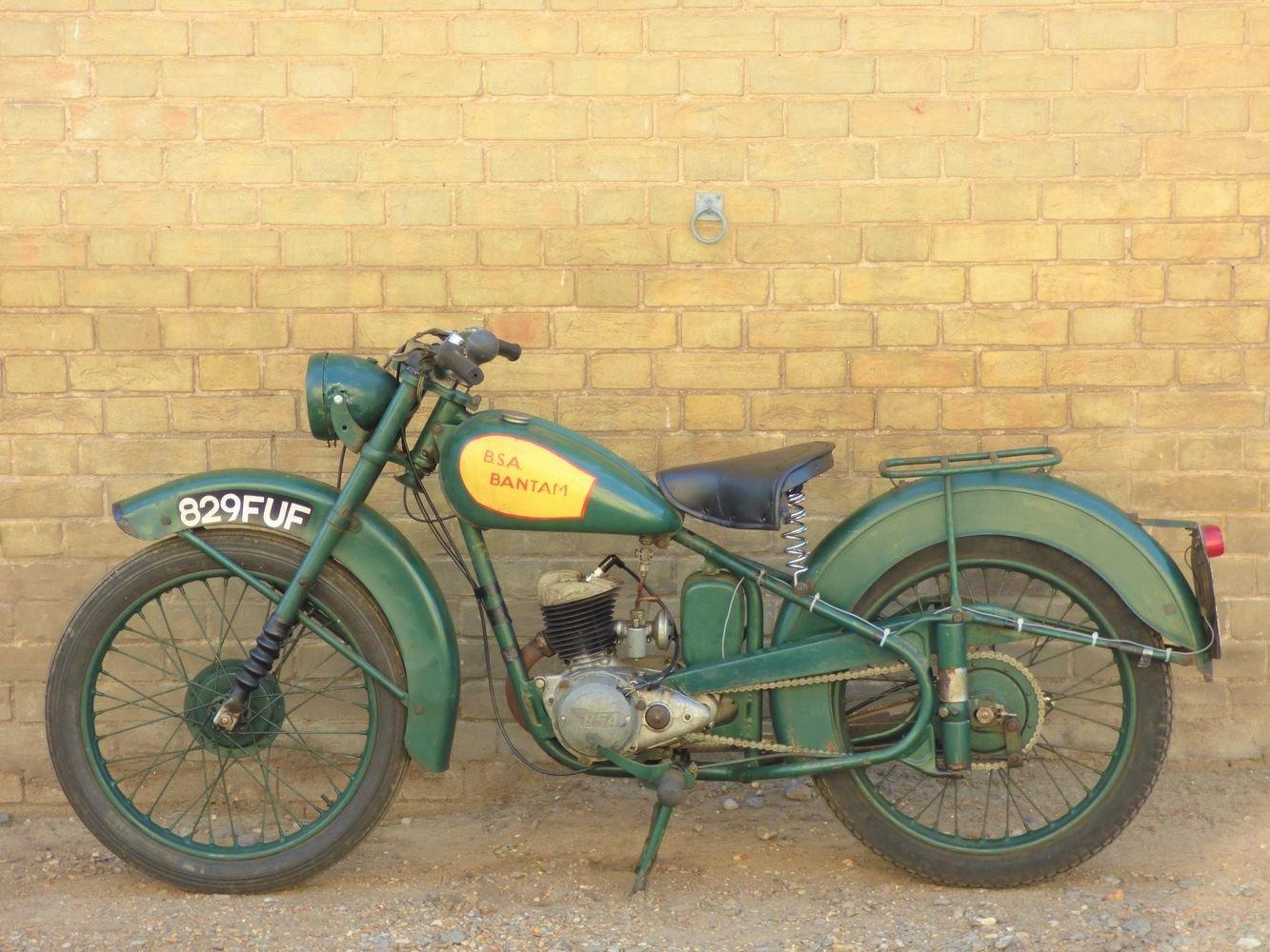 1951 BSA Bantam D1 125cc SOLD (picture 2 of 6)