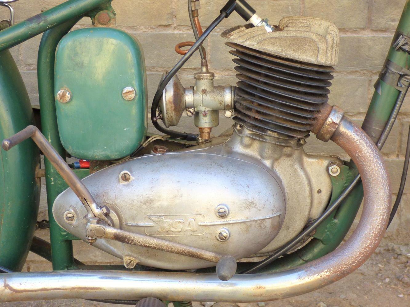 1951 BSA Bantam D1 125cc SOLD (picture 3 of 6)
