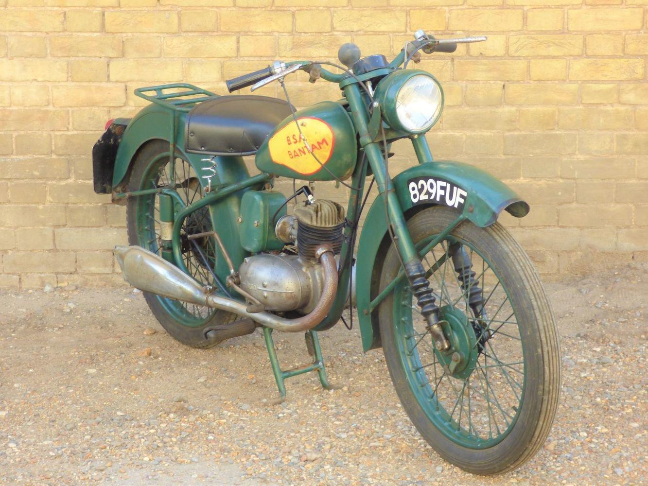 1951 BSA Bantam D1 125cc SOLD (picture 6 of 6)