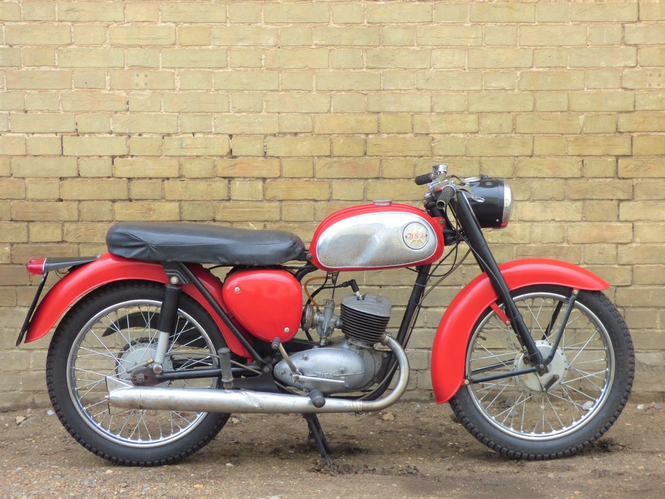 1965 BSA Bantam D7 175cc For Sale (picture 1 of 6)