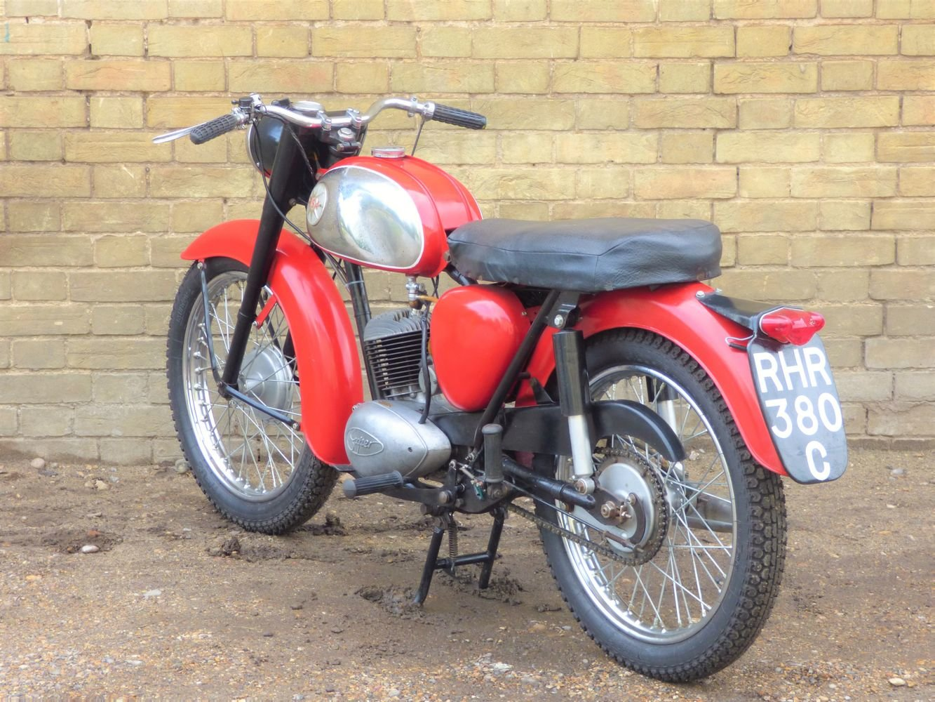 1965 BSA Bantam D7 175cc For Sale (picture 5 of 6)