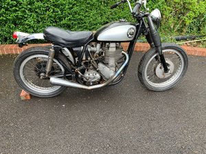 1956 BSA for restoration, or perhaps ride and repair For Sale