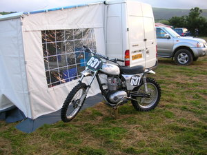 1964 c15 pre 65 motocross bike