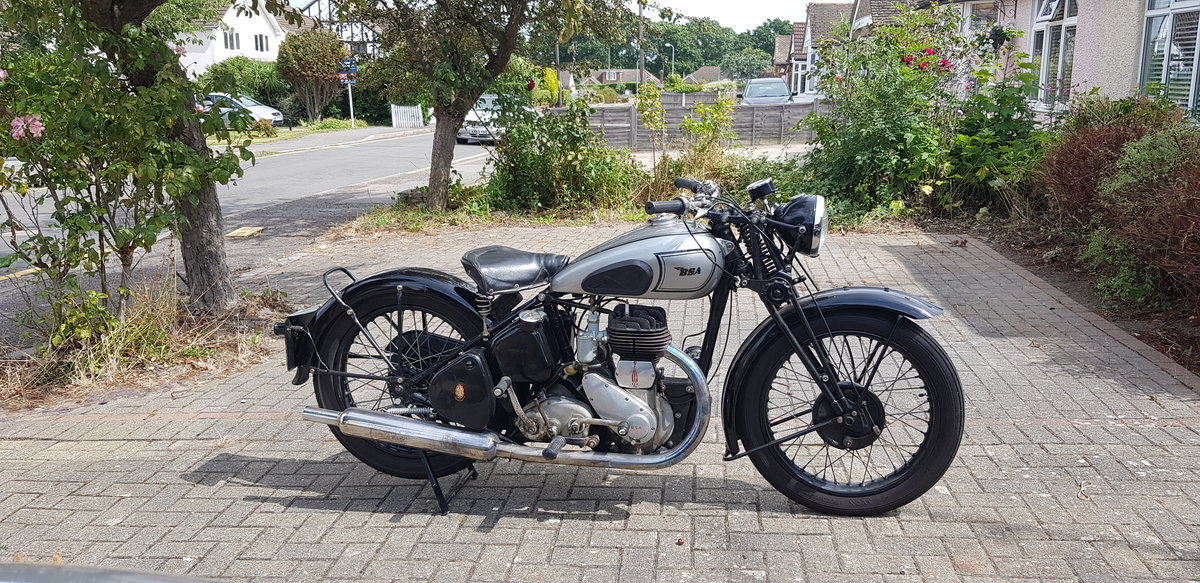 1942 BSA WM20 War registered  For Sale (picture 1 of 6)