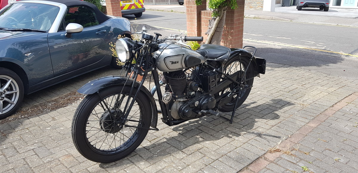 1942 BSA WM20 War registered  For Sale (picture 2 of 6)