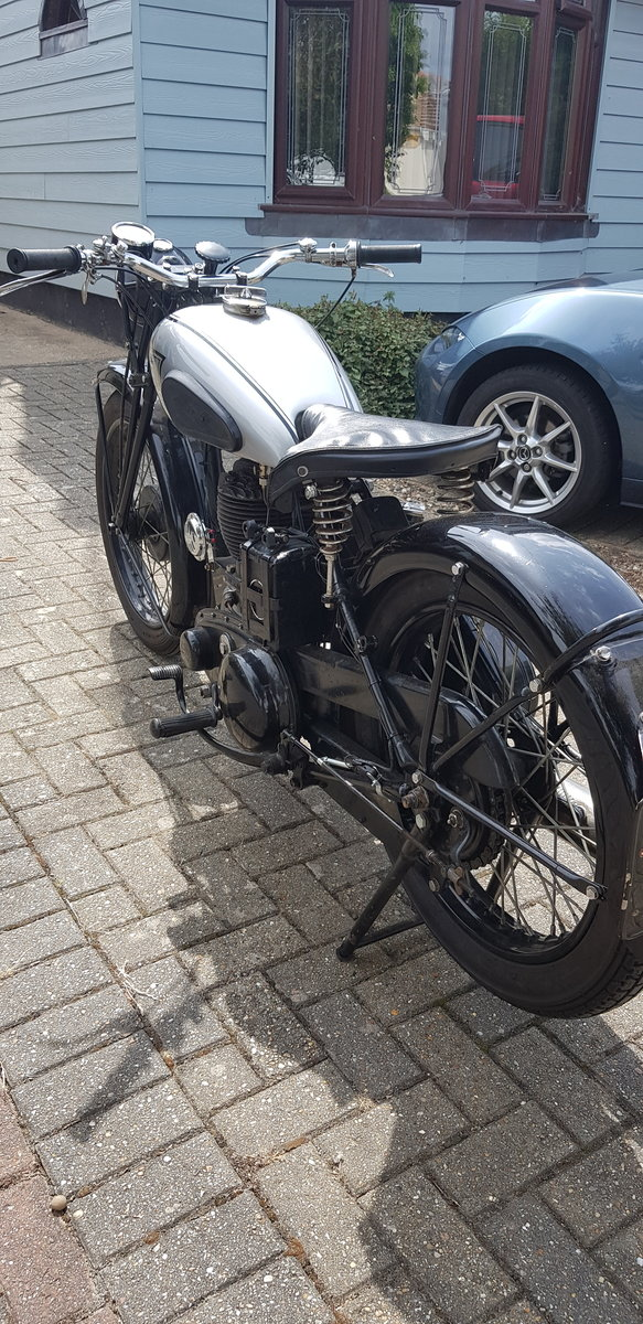 1942 BSA WM20 War registered  For Sale (picture 3 of 6)