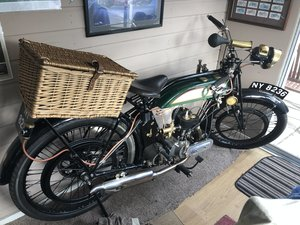 1925 BSA Flat tanker (fully Restored) For Sale