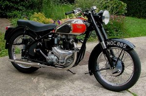 1952 BSA A7 Plunger 500cc for sale