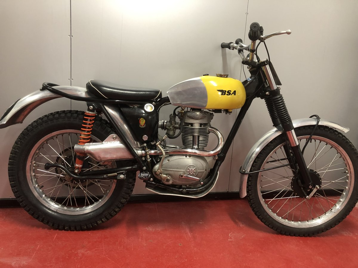 1964 BSA C15 TRIALS BIKE PRE 65 ROAD REGD TRAIL GREEN LANER  For Sale (picture 2 of 6)