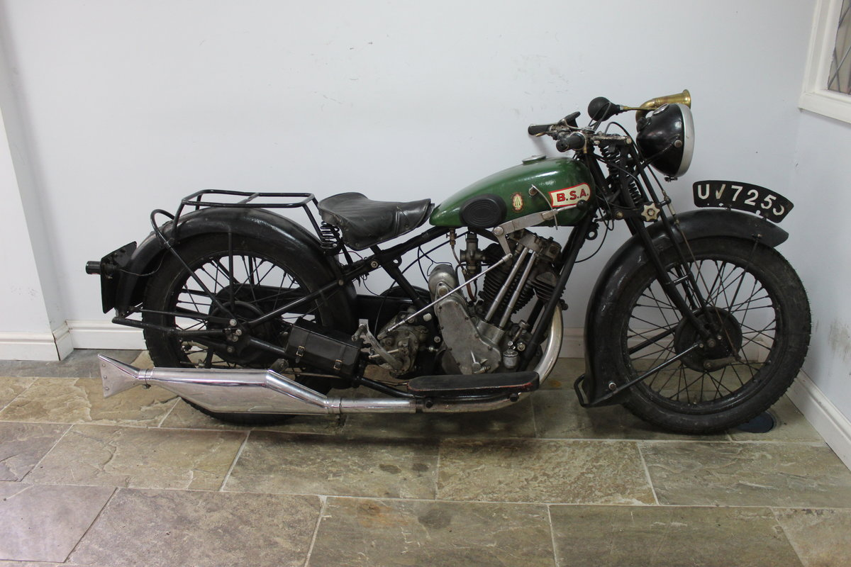 1929 BSA OHV  SOLD (picture 1 of 6)