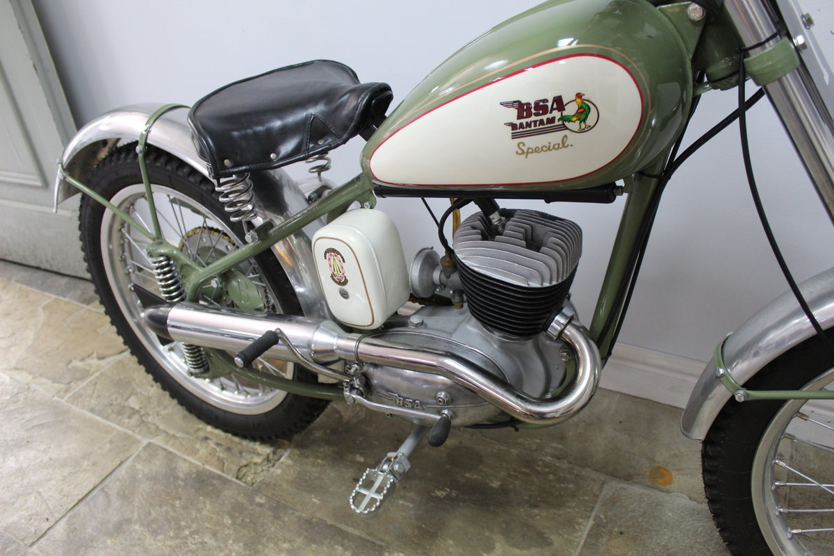 c1952 BSA Bantam D1 Plunger Trials Special Fully restored  For Sale (picture 4 of 6)