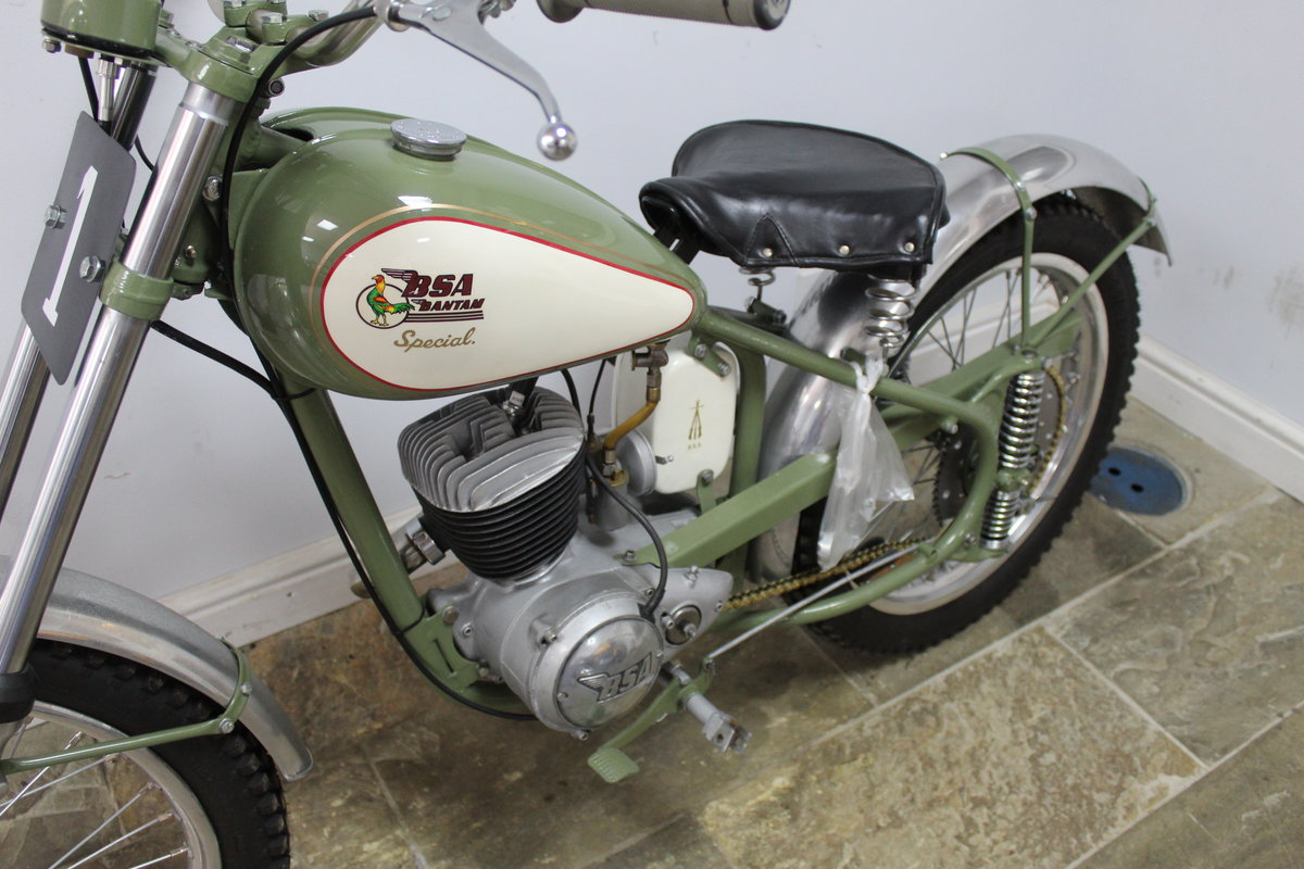 c1952 BSA Bantam D1 Plunger Trials Special Fully restored  For Sale (picture 6 of 6)