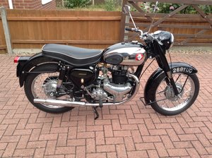 1957 BSA A10 Golden Flash, find a better one £5695 For Sale