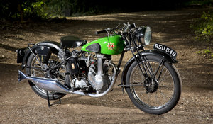 1937 BSA B22 Empire Star 250cc OHV Super  SOLD