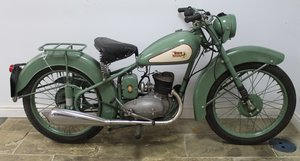 1952 BSA D1 Bantam 125 cc Original registration number  SOLD