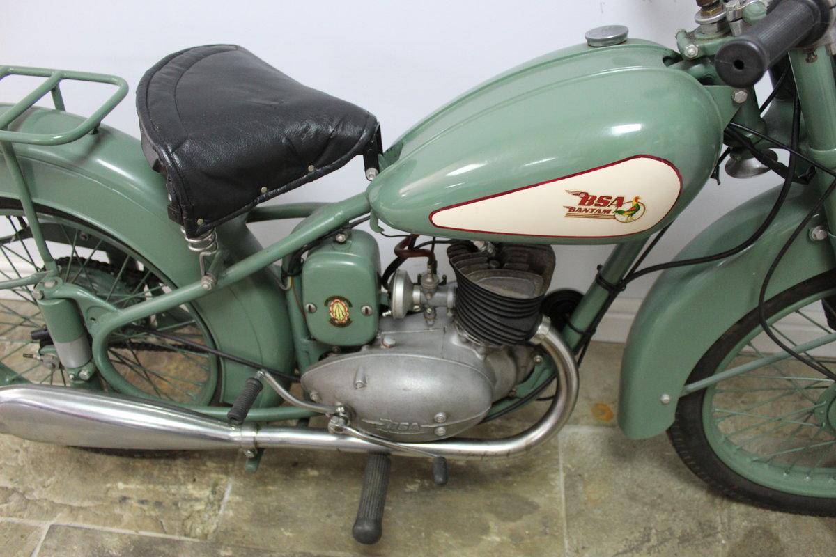 1952 BSA D1 Bantam 125 cc Original registration number  SOLD (picture 3 of 6)