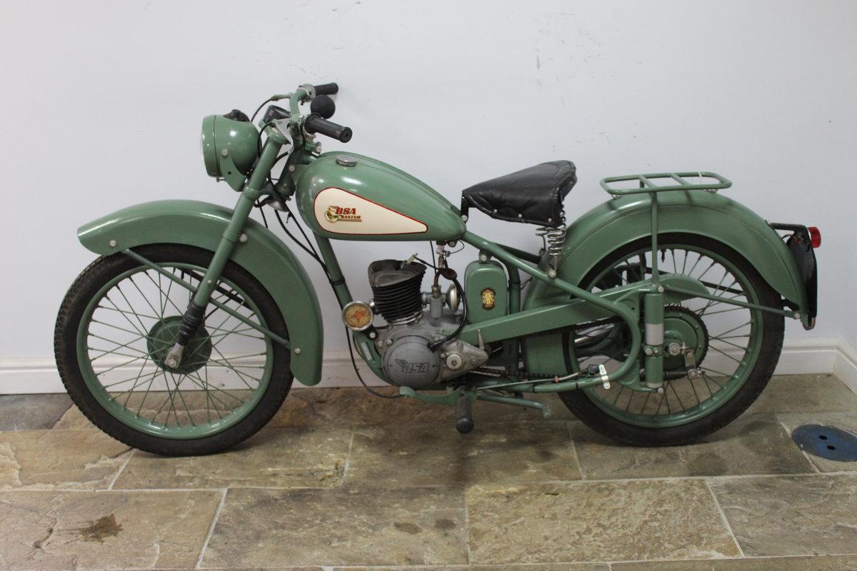1952 BSA D1 Bantam 125 cc Original registration number  SOLD (picture 4 of 6)