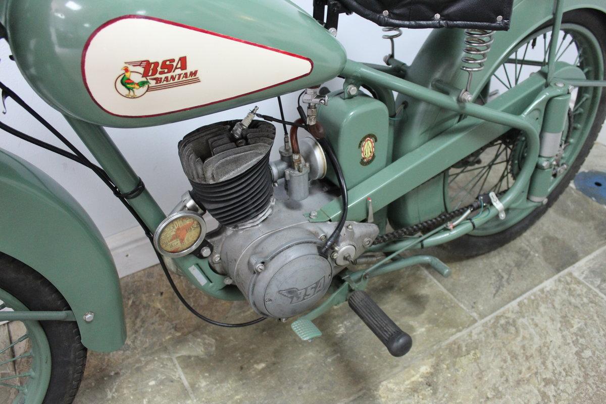 1952 BSA D1 Bantam 125 cc Original registration number  SOLD (picture 6 of 6)